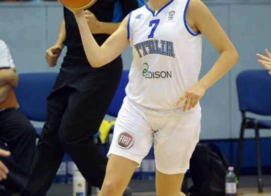 Martina Fassina (lupebasket.it)