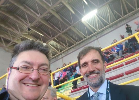 Con Piero Rebaudengo