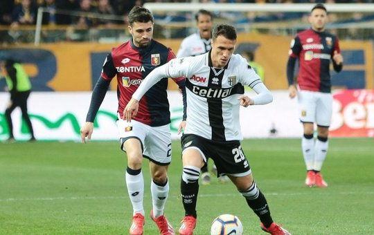 Un momento di Parma-Genoa (ilmessaggero.it)
