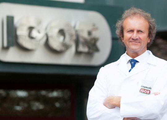 Fabio Leonardi patron della Igor volley Novara (agromagazine.it)