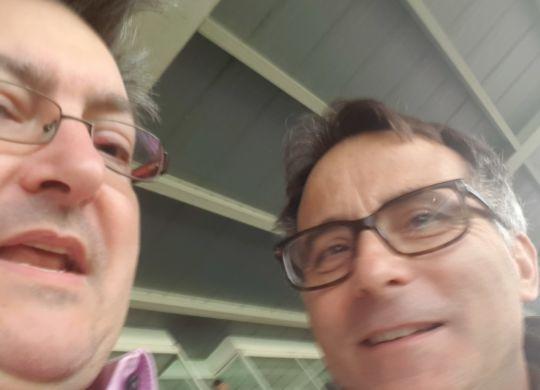 Con Giuseppe Calabrese