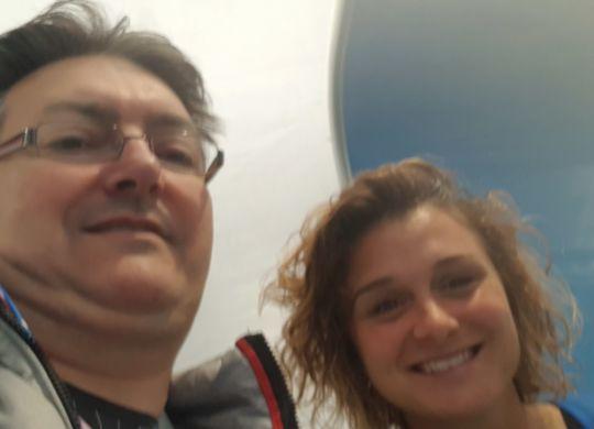 Con Cristiana Girelli