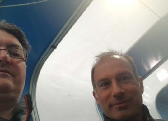 Con Giulio Saetta
