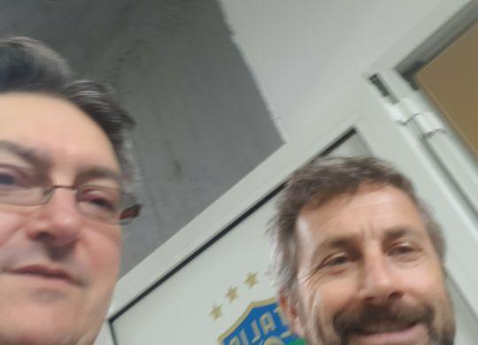 Con Maurizio Ganz