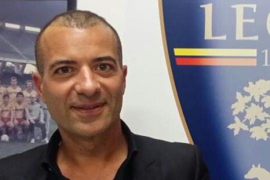 Saverio Sticchi Damiani è il presidente del Lecce (gazzettadel mezzogiorno.it)