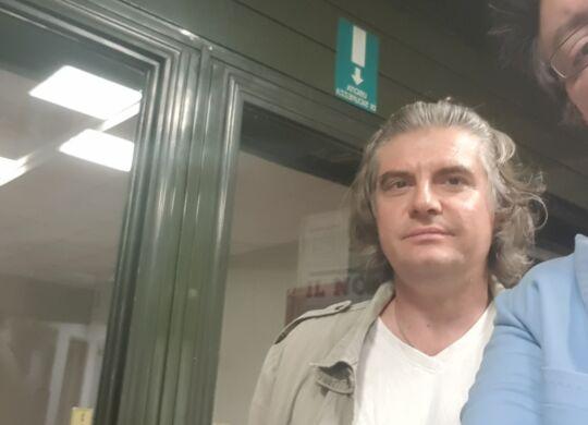 Con Claudio Chiarini