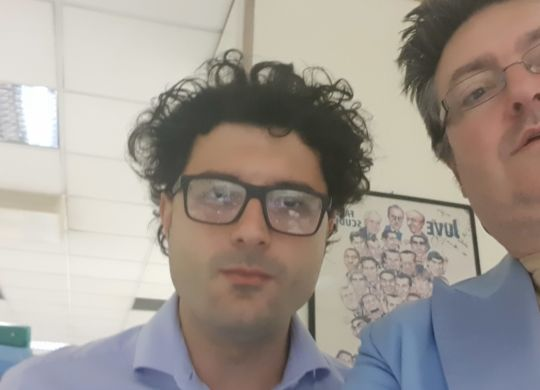 Con Filippo Cornacchia