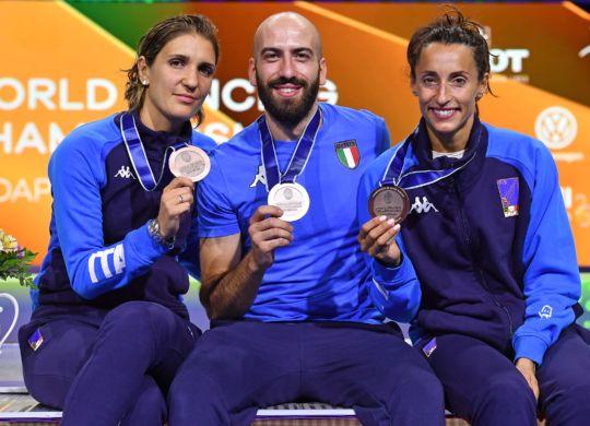 Errigo, Santarelli e Di Francisca (Bizzi)