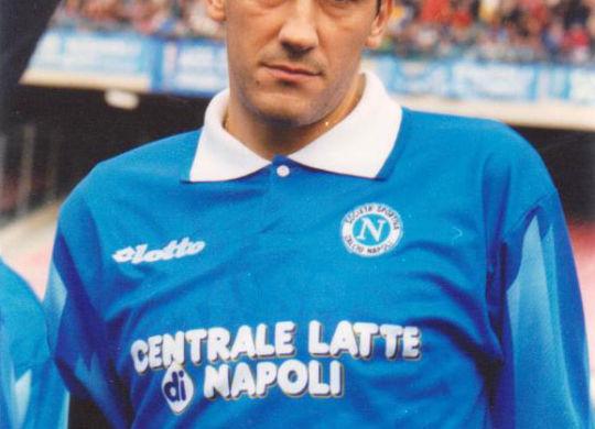 Alfredo Aglietti quando giocava nel Napoli nel 1996/1997 (it.wikipedia.org)