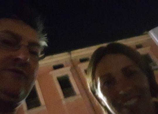 Con Daniela Sabatino
