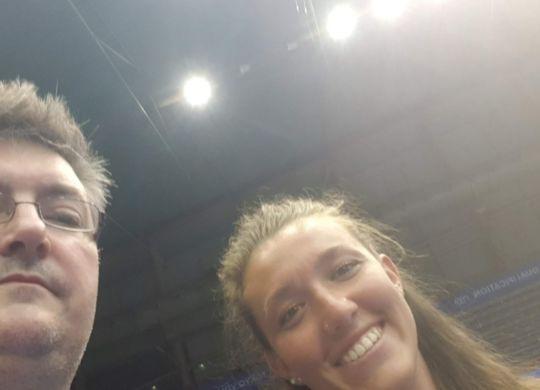 Con Elena Pietrini