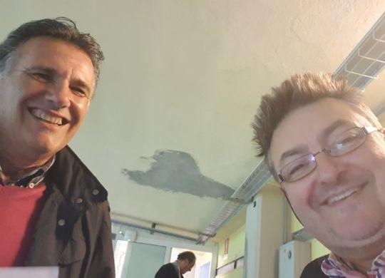 Con Bob Notari