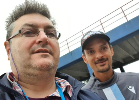 Con Felipe