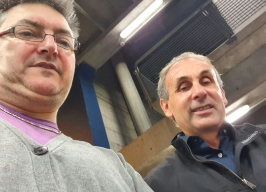 Con Giovanni Soncin