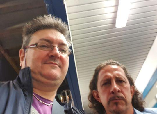 Con Igor Protti