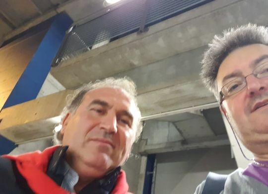 Con Mario Tavaglione