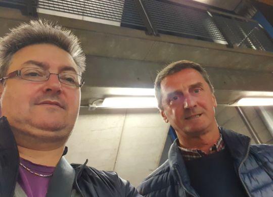 Con Mauro Rabitti