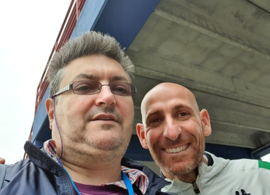 Con Davide Possanzini