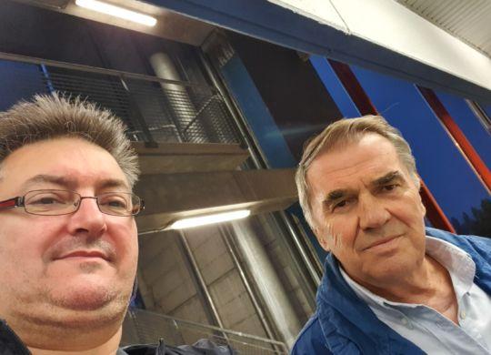 Con Renzo Corni