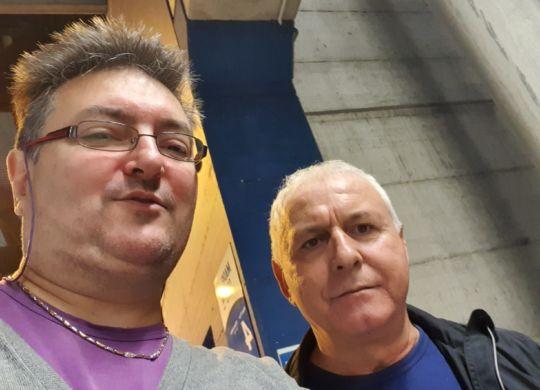 Con Sandro Bertoni