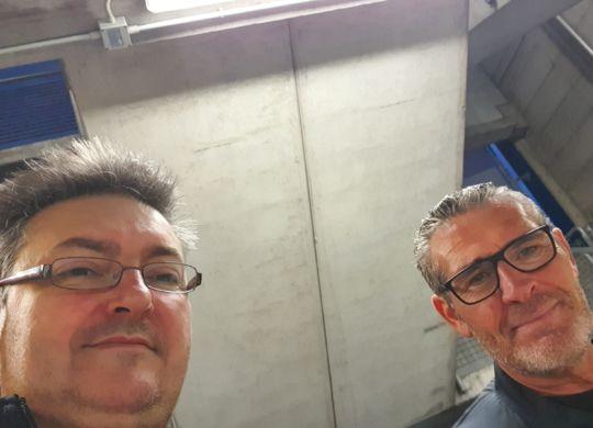 Con Stefano Paraluppi
