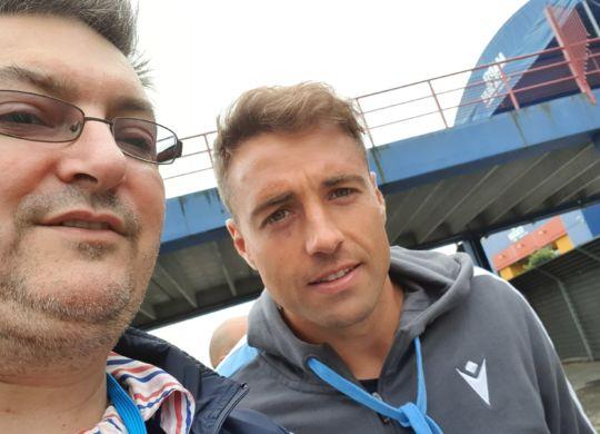 Con Thiago Cionek