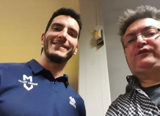 Con Giulio Pinali