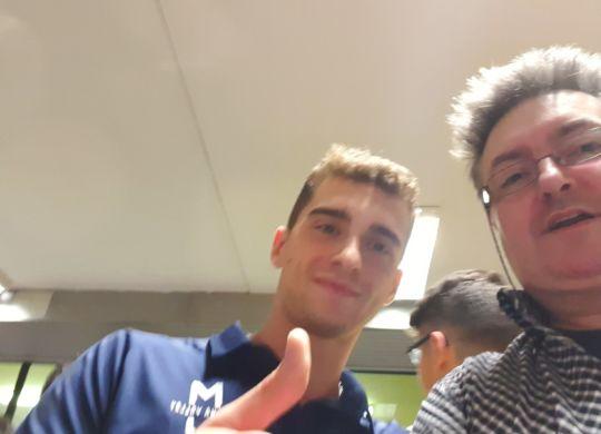 Con Nicola Salsi