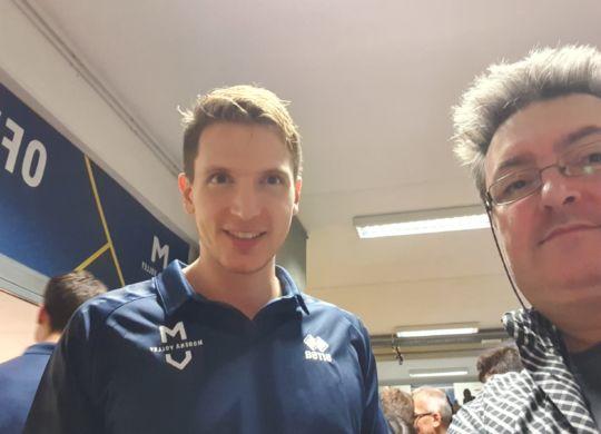 Con Elia Bossi