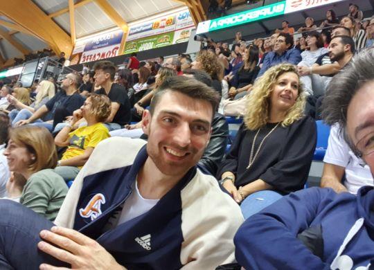 Con Simone Anzani
