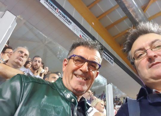 Con Gino Sirci