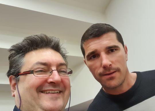 Con Igor Omrcen