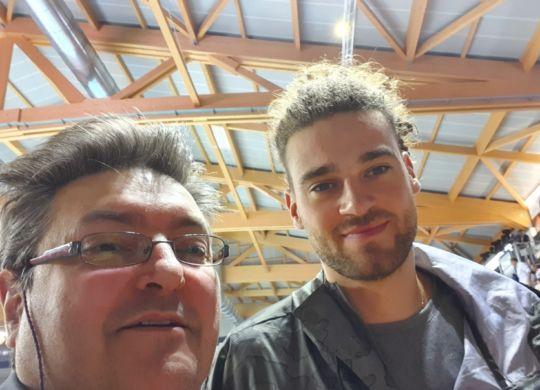 Con Kamil Rychlicki