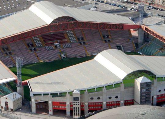 Lo stadio Nereo Rocco a Trieste (triesteallnews.it)