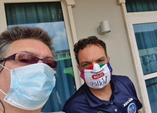 Con Stefano Lavarini