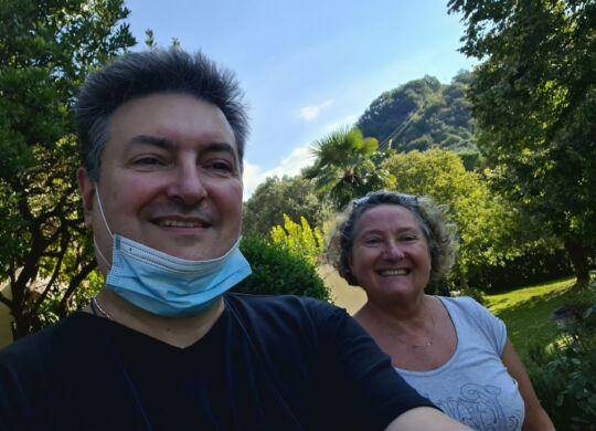 Con Gabriella Dorio