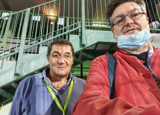 Con Guido Alessandrini