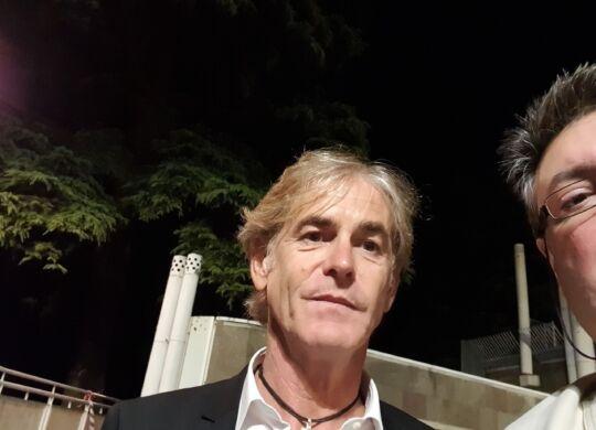 Con Roberto Mussi