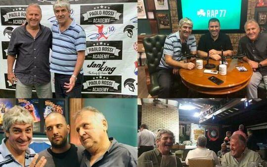 Zico e Paolo Rossi