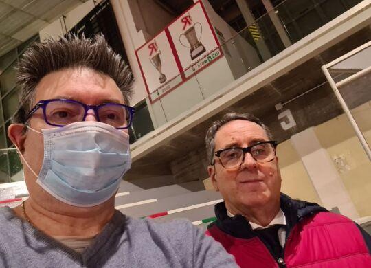 Con Vincenzo Di Pinto