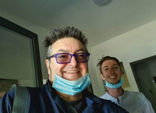 Con Andrea Baroni, Pallacanestro Reggiana