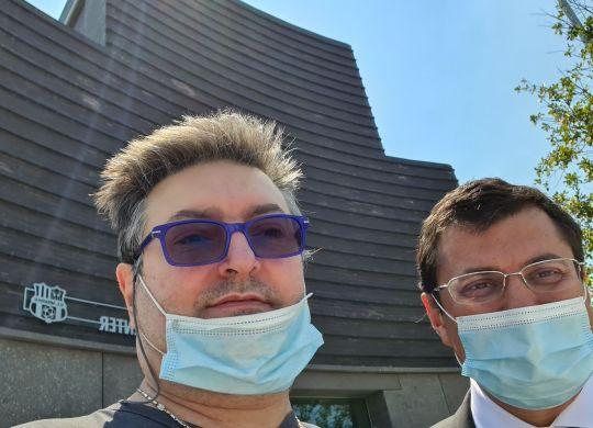 Con Marco Squinzi