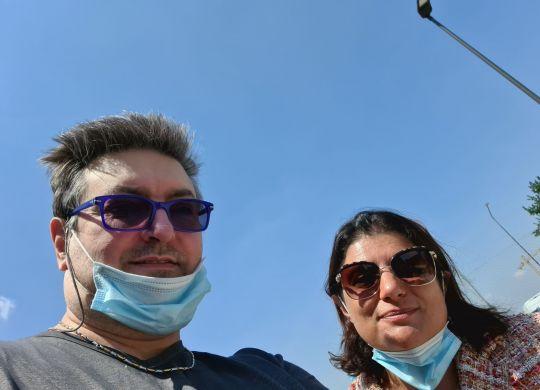Con Veronica Squinzi