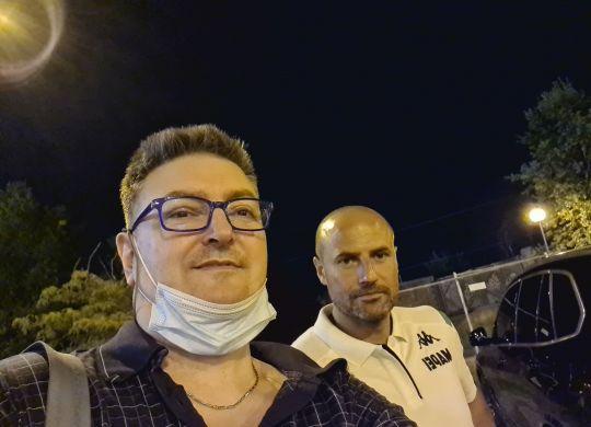 Con Paolo Bianco