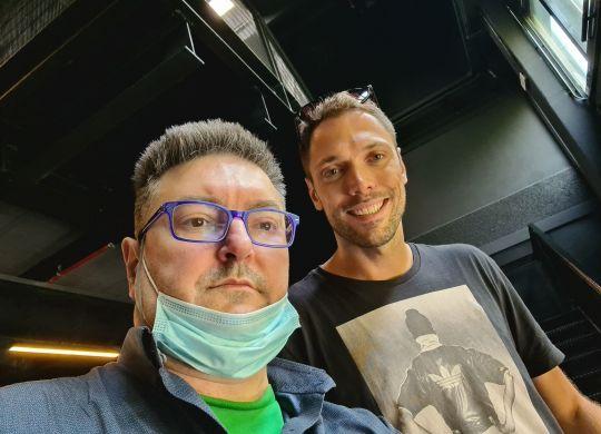 Con Filippo Baldi Rossi