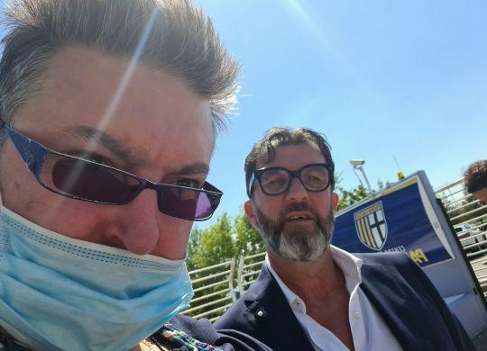 Con Marcello Carli