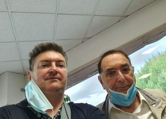Con Giampaolo Dallara