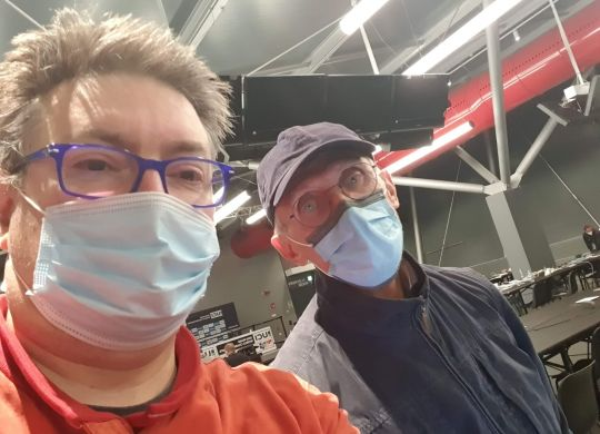 Con Giorgio Viberti