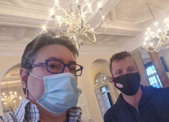 Con Maurizio Fondriest