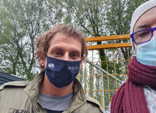 Con Pippo Pozzato